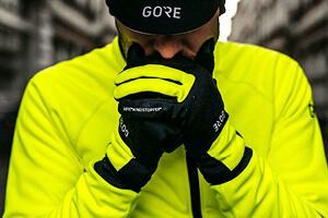 Handschuhe für das Wintertraining