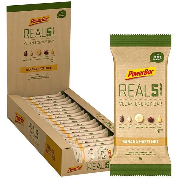 Real5+Magnesium Riegel Banana Hazelnut 18 Stck