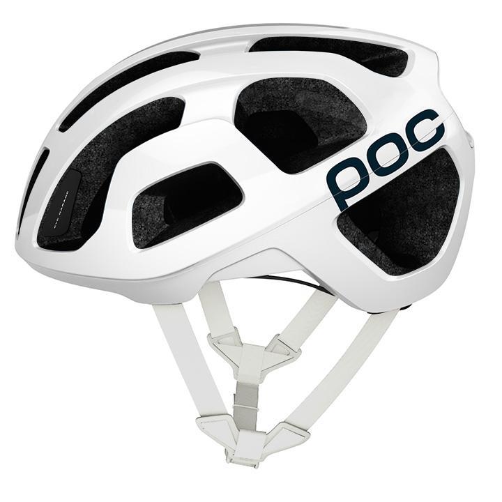POC Octal 2020 bianco Casco bici da corsa, Unisex (donna / uomo), Taglia L, Acce