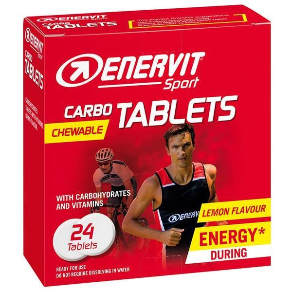 Sport Kautabletten Carbo Lemon 24 Stck./Box