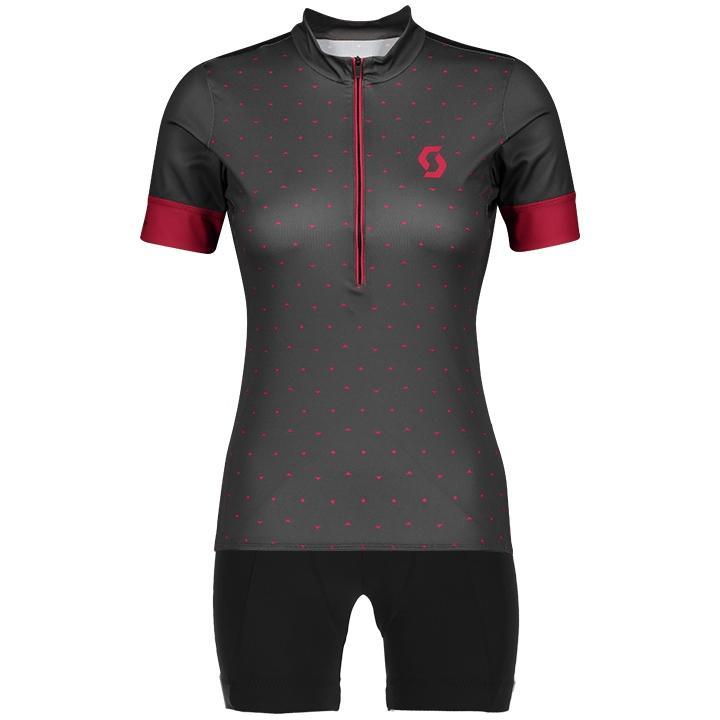 SCOTT Endurance 20 Dames set (fietsshirt + fietsbroek) dames set (2 artikelen),