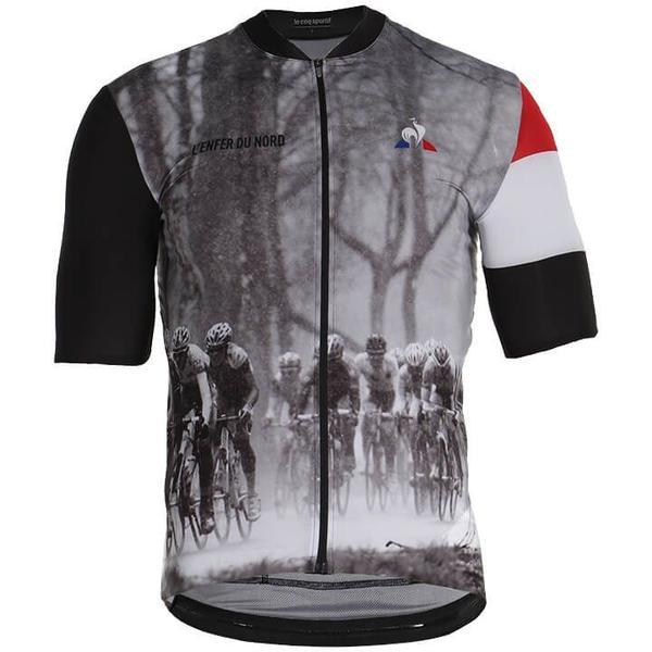 Tour de France Paris Roubaix Kurzarmtrikot Pro 2019