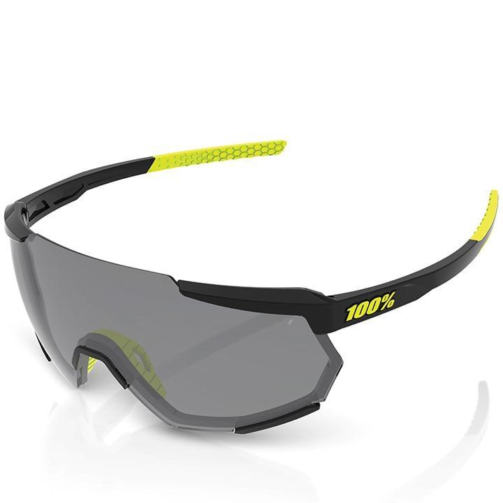100% Brillenset Racetrap glänzend Brille, Unisex (Damen / Herren), Fahrradbrille