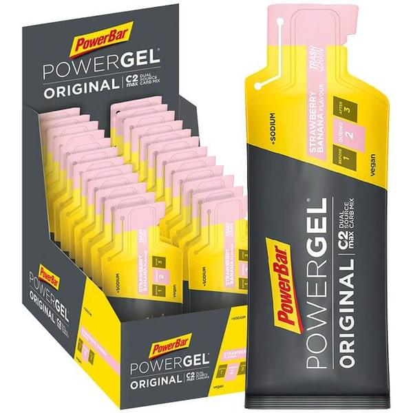 Powergel Original Strawberry Banana 24 Stck./K.