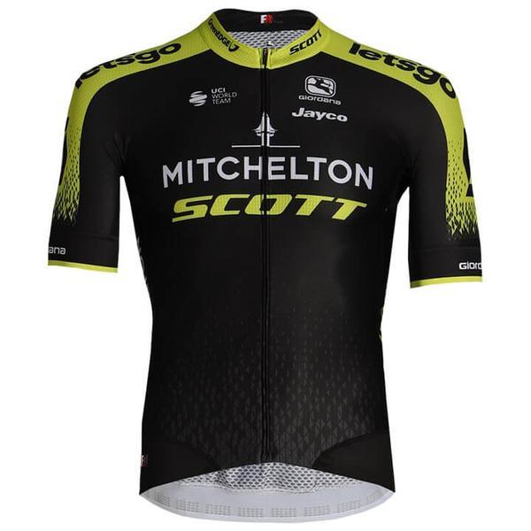 MITCHELTON - SCOTT Kurzarmtrikot FRC 2020
