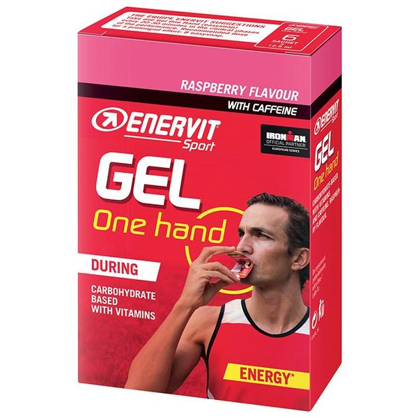 Sport One Hand Gel Raspberry 6 Stck./Box